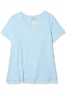 Jockey Women's Cotton Jersey Short Sleeve Tee  L