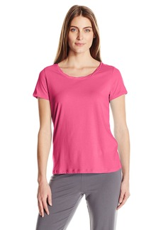 Jockey Women's Cotton Jersey Short Sleeve Top  L