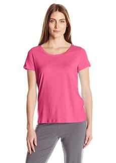 Jockey Women's Cotton Jersey Short Sleeve Top  XXL
