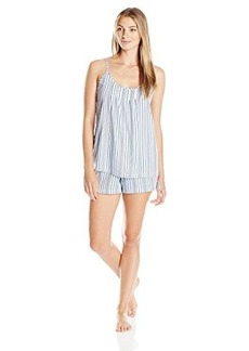 Jockey Women's Cotton Sateen Tank with Boxer Pajama Set