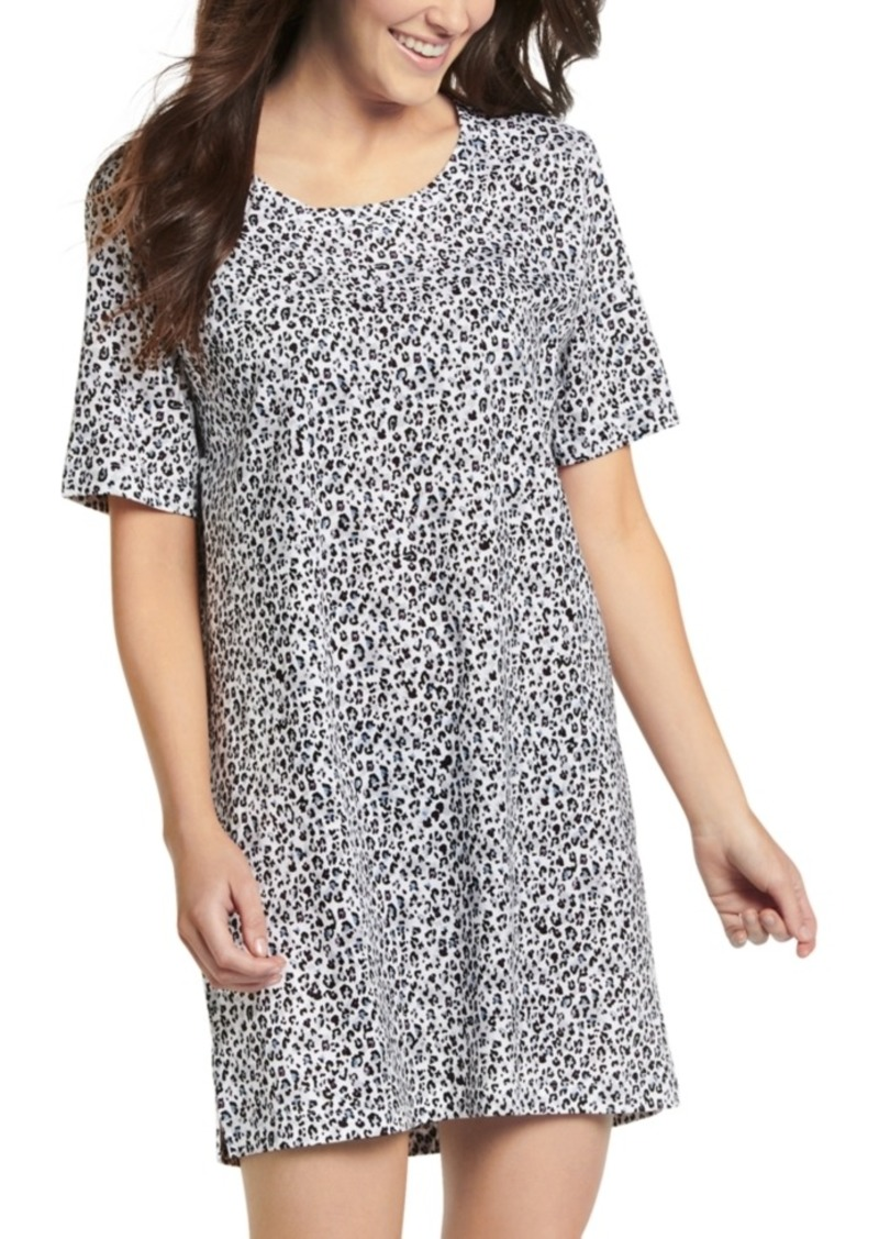 Jockey Everyday Essentials Cotton Short Sleeve Sleepshirt Nightgown