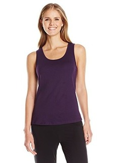 Jockey Women's Cotton Solid Tank