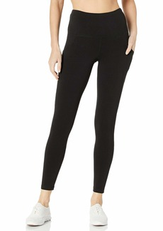 Jockey Women's Cotton Stretch Basic 7/8 Legging with Side Pocket