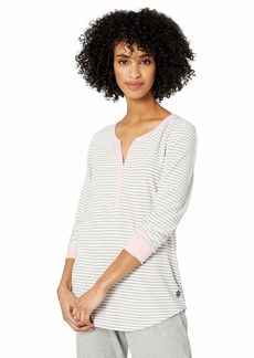 Jockey Women's Cozy Long Sleeve Henley Sleep TOP  XXL