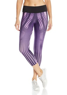 Jockey Women's Deco Engineered Print Capri Legging  M