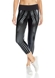 Jockey Women's Deco Engineered Print Capri Legging  S