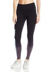 Jockey Women's Dip Dye Strong Checkerboard Graphic Seam Free Ankle Legging  S