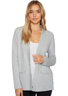Jockey Women's Double FACE Knit LS Cardigan  M