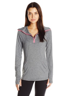 Jockey Women's Ebb and Flow Quarter Zip Top  L