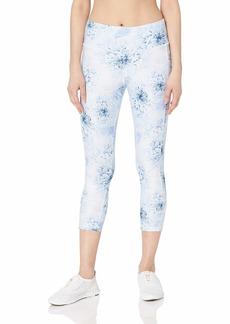 Jockey Women's Fantasy Floral Capri Cloud Flower Print/Shirting blue-43319
