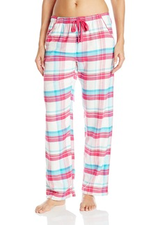 Jockey Women's Plaid Flannel Long Pant