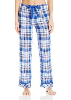 Jockey Women's Flannel Plaid Long Pant Woodland