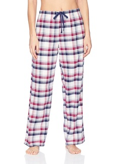 Jockey Women's Flannel Plaid Pant  L