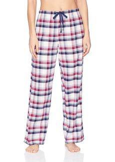 Jockey Women's Flannel Plaid Pant  M