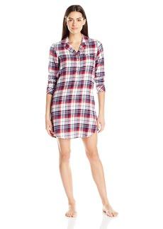 Jockey Women's Flannel Plaid Sleepshirt