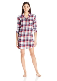Jockey Women's Flannel Plaid Sleepshirt