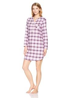Jockey Women's Flannel Sleepshirt  XL
