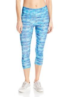 Jockey Women's Fossil Print Capri Legging  XL
