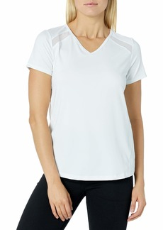 Jockey Women's Fusion Short Sleeve T-Shirt with Mesh Inserts