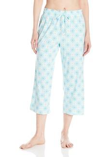 Jockey Women's Jersey Printed Capri Pant  S