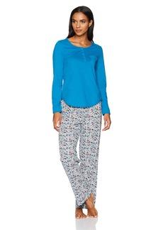 Jockey Women's Knit Pajama Set  XL