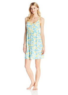 Jockey Women's Lemon Printed Chemise  M