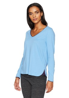 Jockey Women's Long Sleeve Vneck Top  M