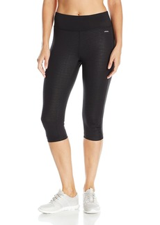 Jockey Women's Mini Stripe Embossed Judo Legging  S