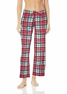 Jockey Women's Novelty Pajama Pant red Plaid M
