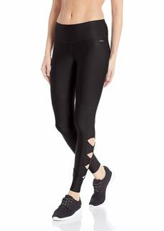 Jockey Women's Performance Cutout Ankle Legging deep Black