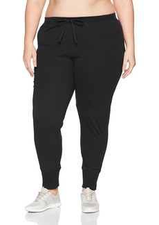 Jockey Women's Plus Size 100% Cotton Jogger Pant  2X