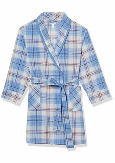 Jockey Women's Plus Size Microfleece Long Robe
