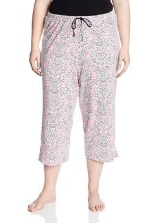 Jockey Women's Plus-Size Plus Size Print Capri Pant  2X