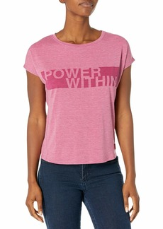 Jockey Women's Power Inspirational Burnout Tees  S