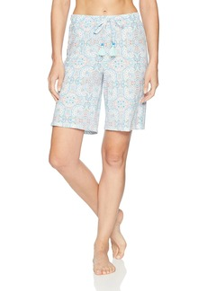 Jockey Women's Printed Bermuda Pajama Short  M