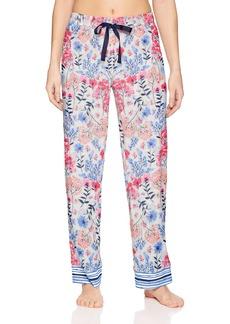 Jockey Women's Printed Cotton Jersey Long Pant  L
