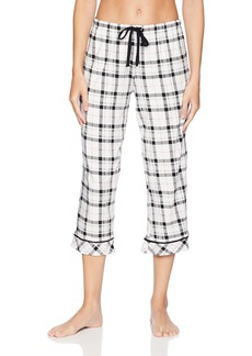 Jockey Women's Printed Cropped Pajama Pant  XL