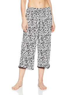 Jockey Women's Printed Cropped Sleep Pant  M