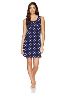 Jockey Women's Printed Dot Chemise  L