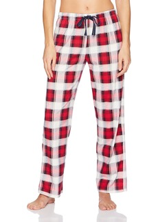 Jockey Women's Printed Plaid Long Pant  M