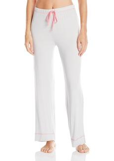 Jockey Women's Rayon Spandex Striped Long Pant