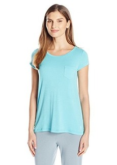 Jockey Women's Rayon Spandex Short Sleeve Top