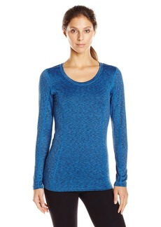 Jockey Women's Smart Heather Thermal Crew Top