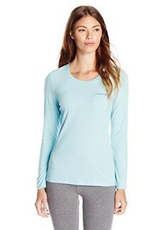 Jockey Women's Solid Long Sleeve Top