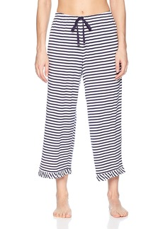 Jockey Women's Striped Cropped Pajama Pant  S