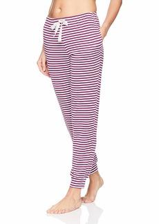 Jockey Women's Striped Lounge Jogger Pant  M