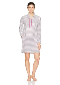 Jockey Women's Striped Thermal Sleepshirt Simple XL