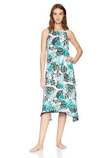 Jockey Women's Tropical Midi Nightgown  M