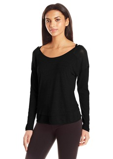 Jockey Women's Vintage Snow Jersey Top  L