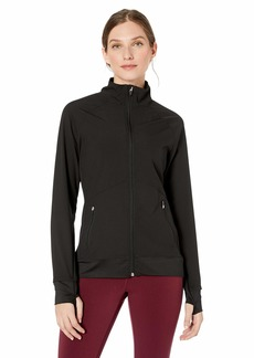Jockey Women's Wind Resistent Active Jacket deep Black